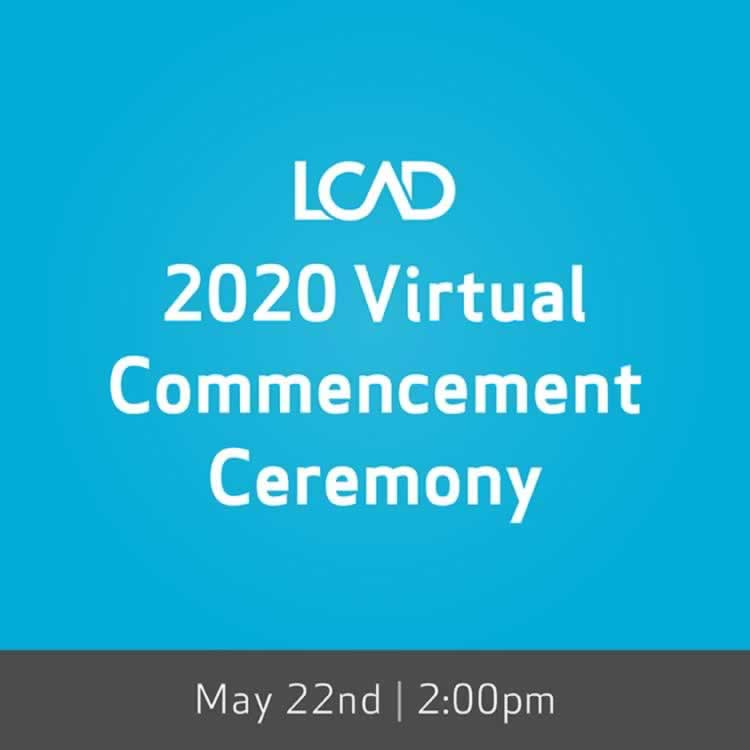 LCAD Commencement 2020
