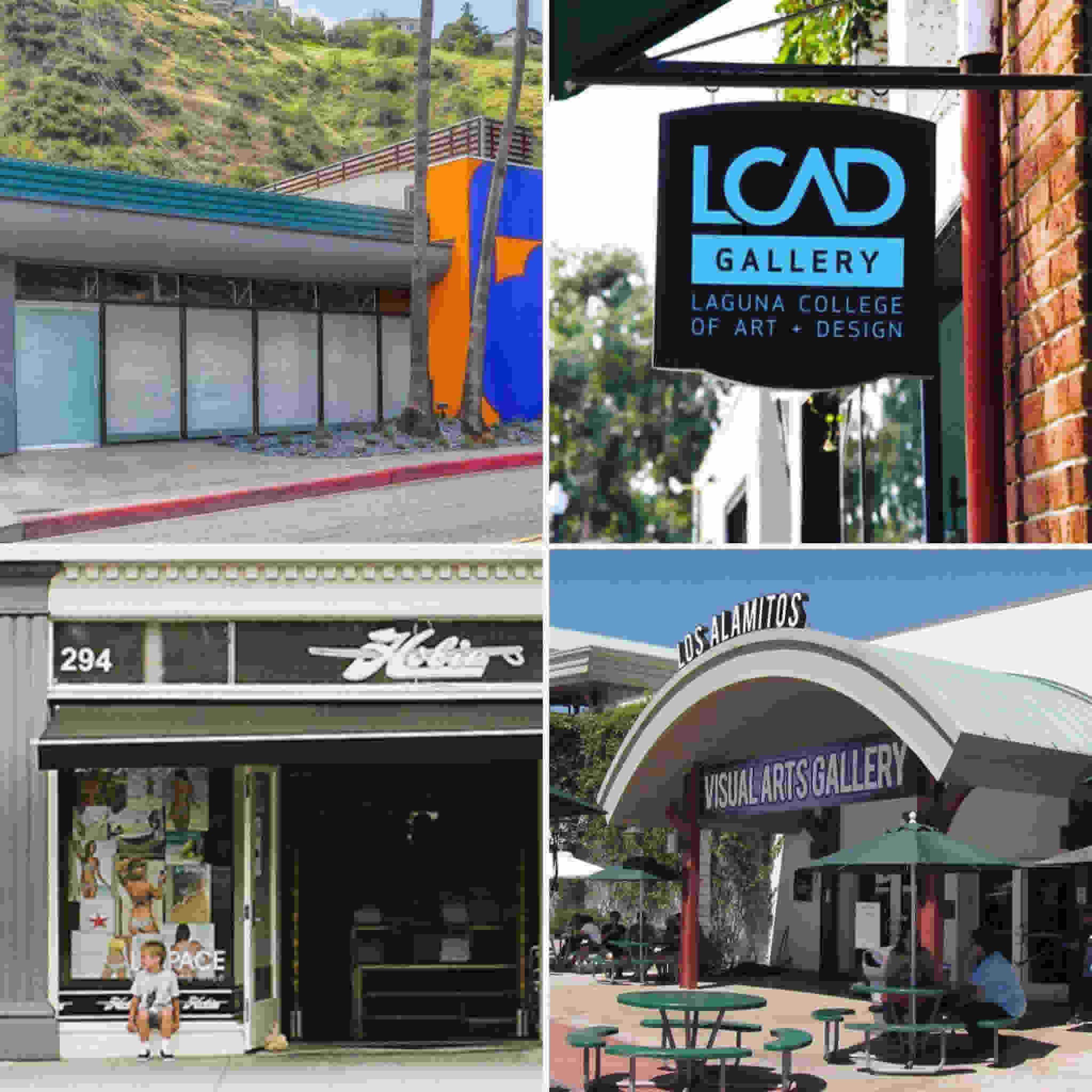 LCAD Four Exhibitions One Month